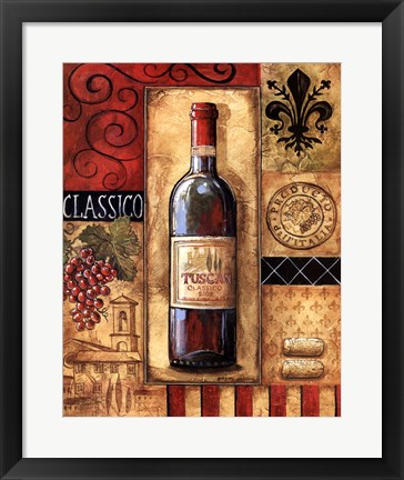 Framed Tuscan Classico Print