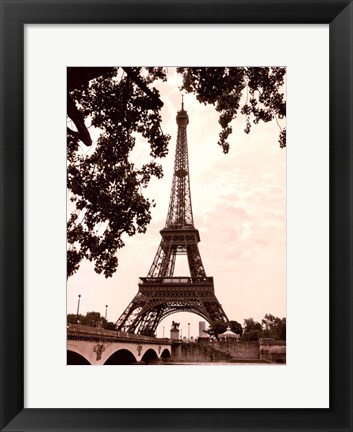 Framed Eiffel Views I Print