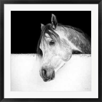 Framed Lonesome Gray Print
