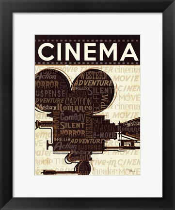 Framed Cinema I Print