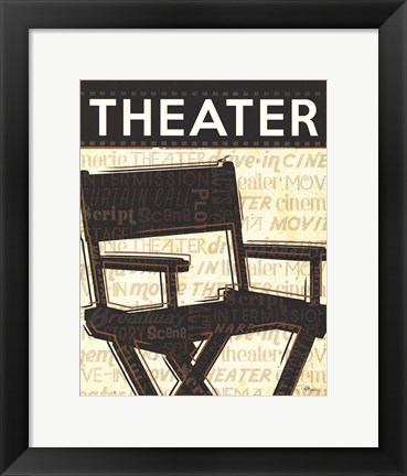 Framed Cinema III Print