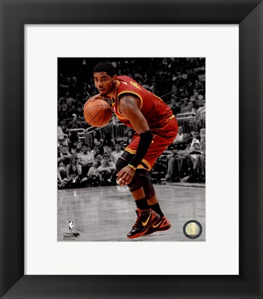 Framed Kyrie Irving 2011-12 Spotlight Action Print