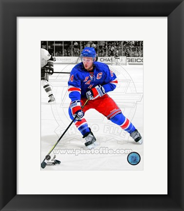 Framed Ryan Callahan 2011-12 Spotlight Action Print