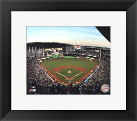 Framed Marlins Park Inaugural Game 2012 Print