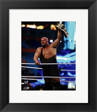Framed Big Show WrestleMania XXVIII Action Print