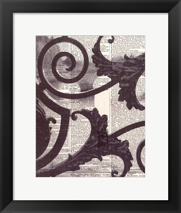 Framed Architectural Paris II Print
