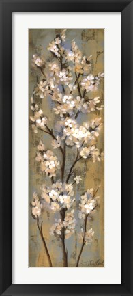 Framed Almond Branch II Print
