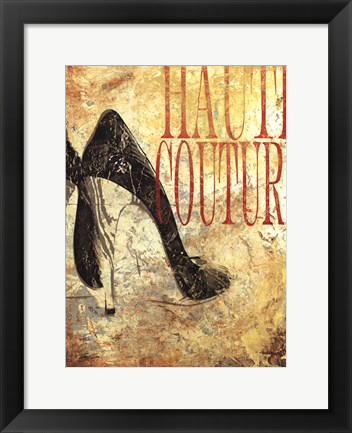 Framed Haute Couture Print