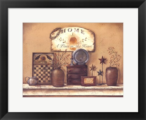 Framed Place In The Heart Print