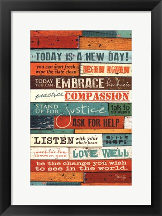Framed New Day Print