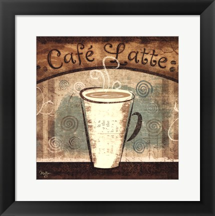 Framed Cafe Latte Print