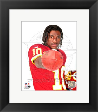 Framed Robert Griffin III 2012 Posed Print