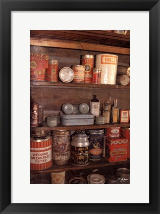 Framed Country Pantry Print
