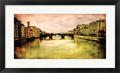 Framed Italy Panorama II Print