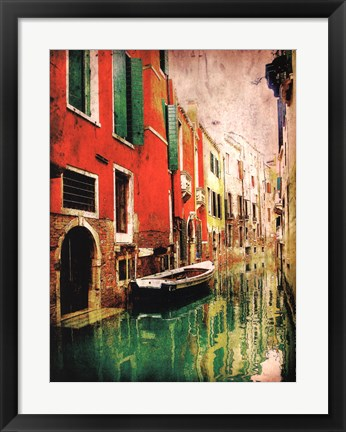 Framed Streets of Italy II Print