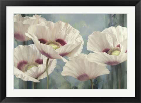 Framed Tasmanian Poppies II Print