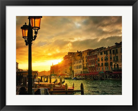 Framed Venice in Light IV Print