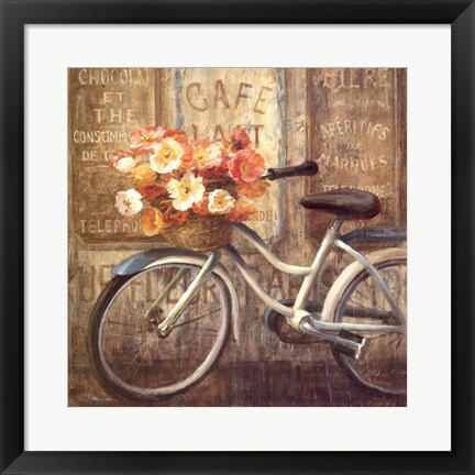 Framed Meet Me at Le Cafe II Print