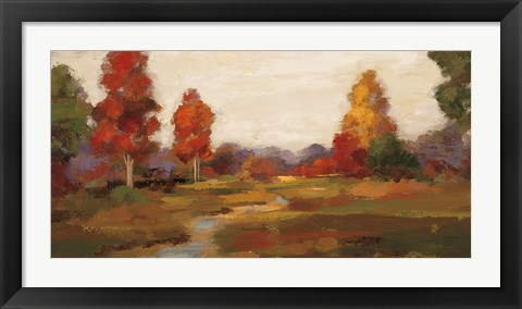 Framed Fall Creek Print