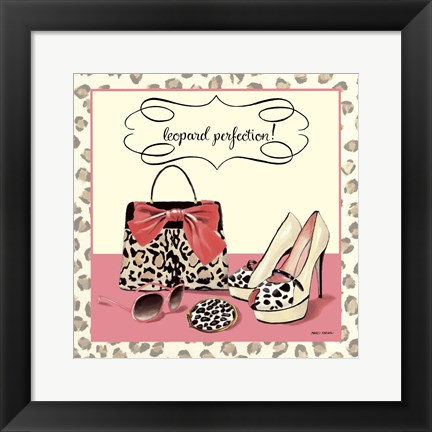 Framed Leopard Perfection Print