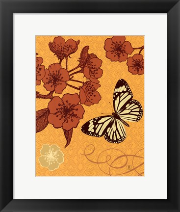 Framed Orchard Bloom Print