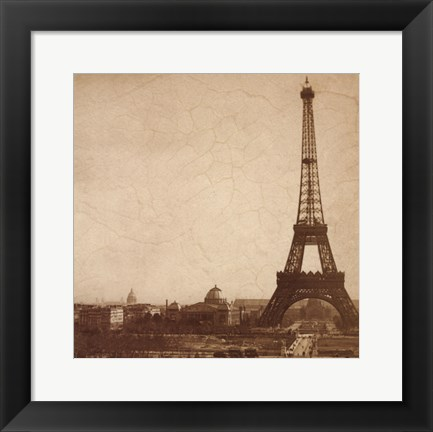 Framed Historical Paris Print