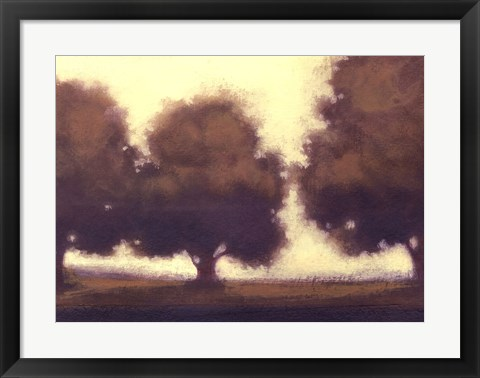 Framed Calm Meadow II Print