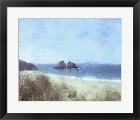 Framed Cornish View Print