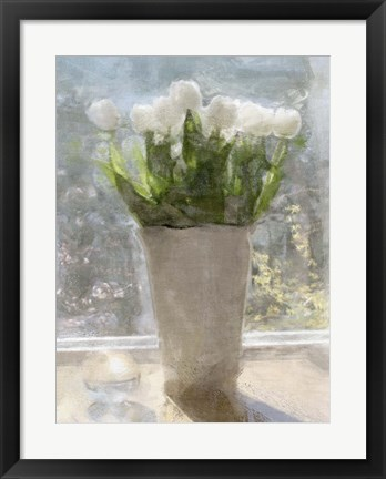 Framed Tulips in the Sun Print