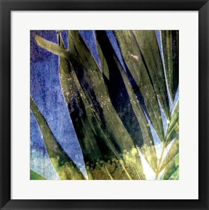 Framed Tropical Memory I Print