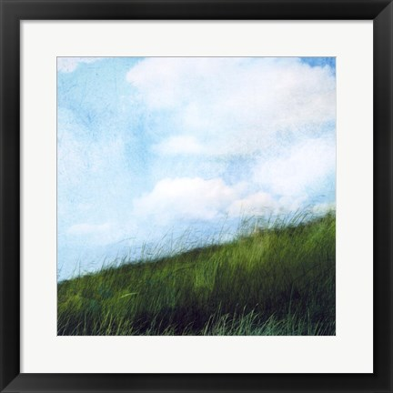 Framed Bright Field II Print