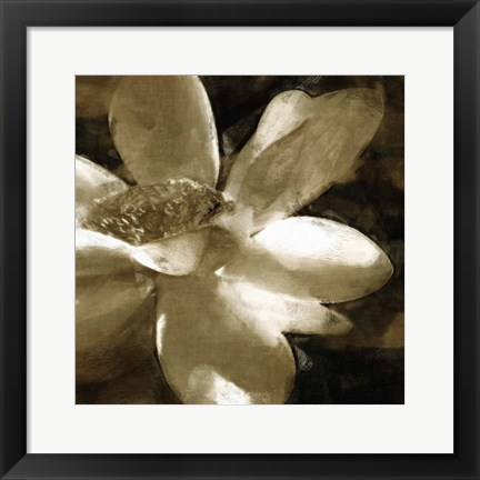 Framed Bronze Lily III Print