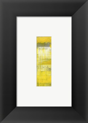 Framed Mellow Yellow II Print