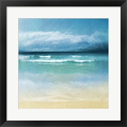Framed Ocean Movement II Print