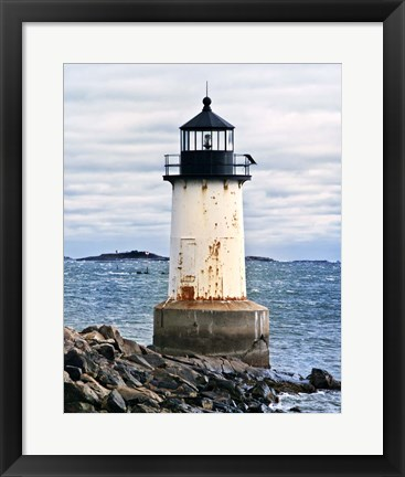 Framed Lighthouse Views II Print
