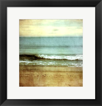 Framed Beach One Print