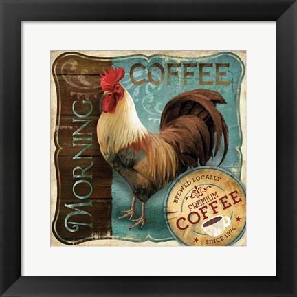 Framed Morning Coffee Print