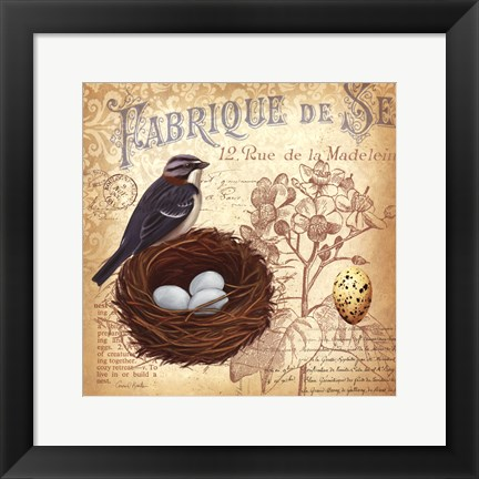 Framed Springtime in France III Print