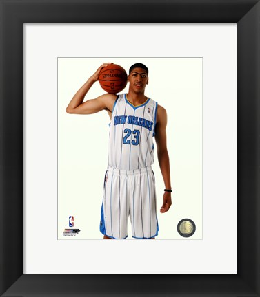 Framed Anthony Davis 2012 #1 Draft Pick Print