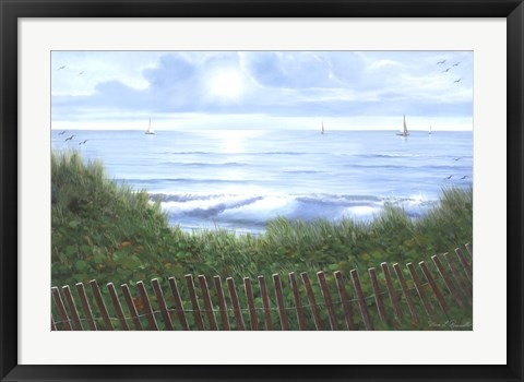 Framed Beach of Dreams Print