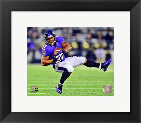 Framed Ray Rice 2012 Print