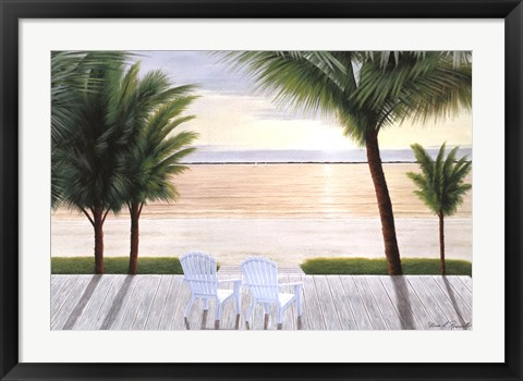 Framed Palm Bay Dreaming Print
