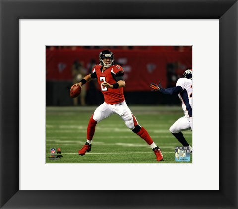 Framed Matt Ryan 2012 Action Print