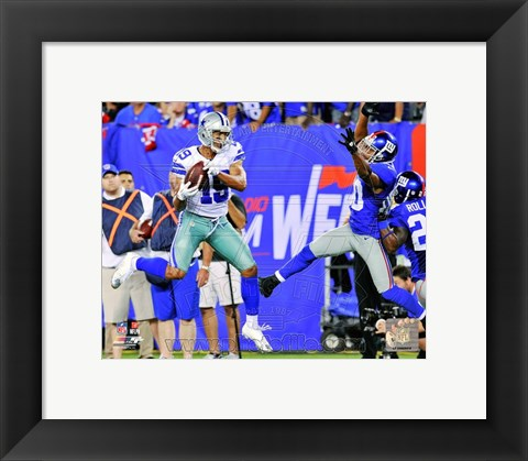 Framed Miles Austin 2012 Action Print