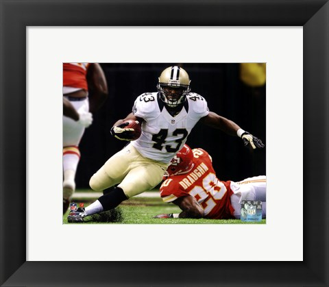 Framed Darren Sproles 2012 Action Print