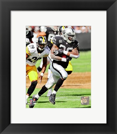 Framed Darren McFadden 2012 Action Print