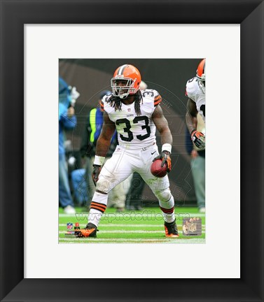 Framed Trent Richardson 2012 Action Print