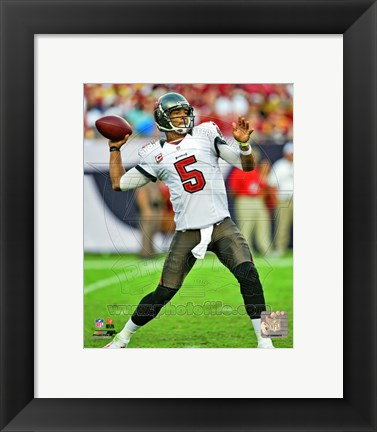 Framed Josh Freeman 2012 Action Print