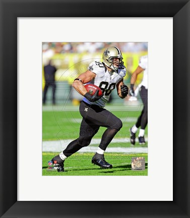 Framed Jimmy Graham 2012 Print