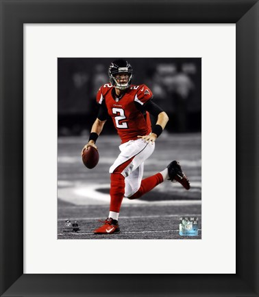 Framed Matt Ryan 2012 Spotlight Action Print
